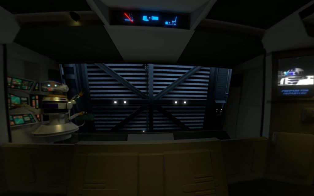 A recreation of Star Tours in 360 by Gregory Noacco