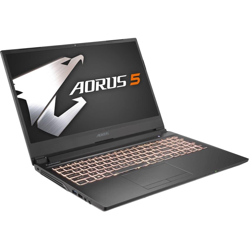Gigabyte Aorus vB gaming laptops