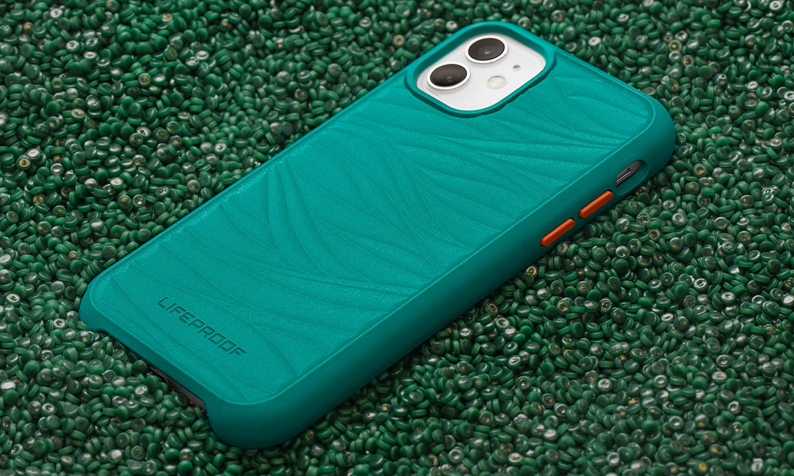 Lifeproof case made with 85% recycled ocean-based plastics
