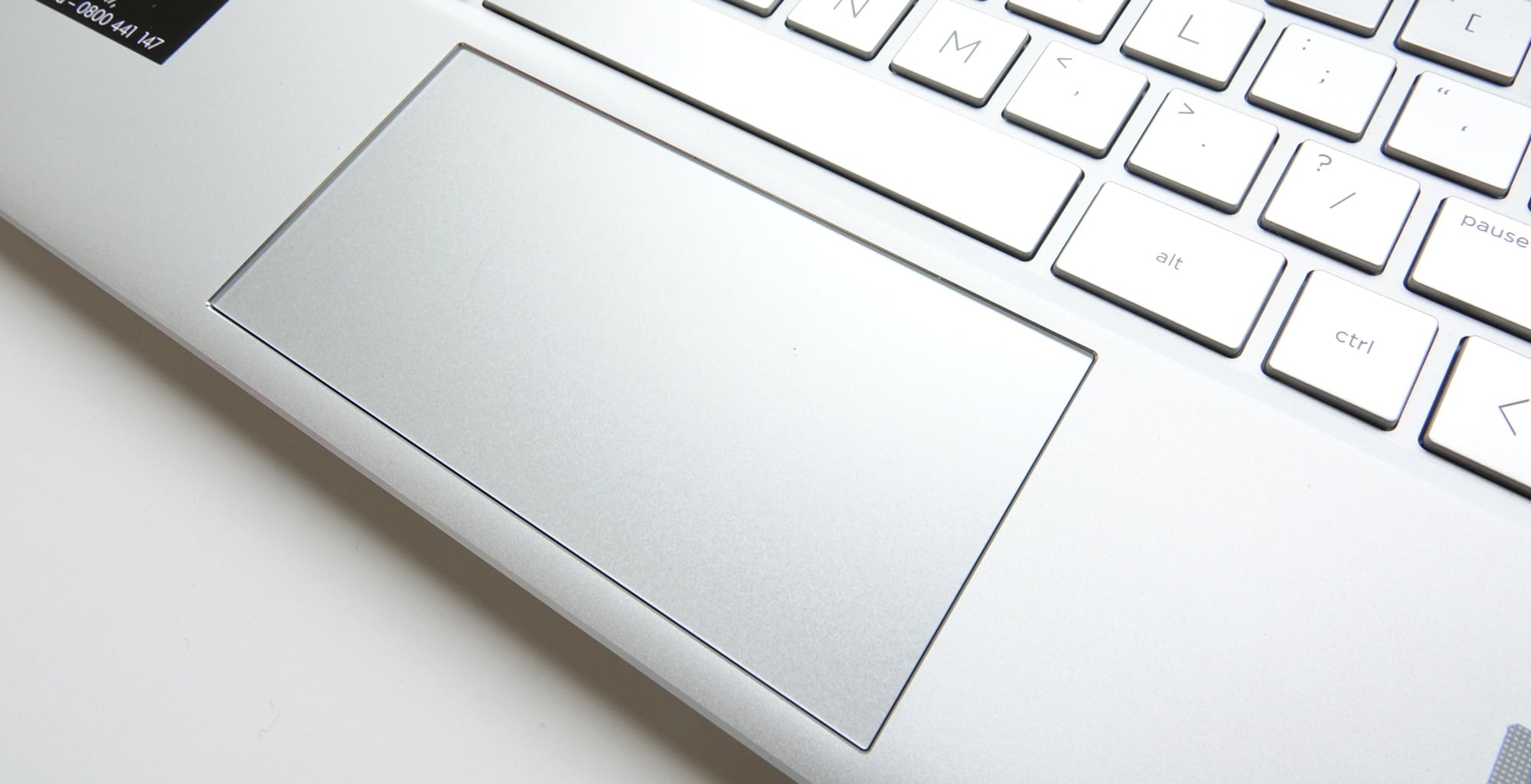 The trackpad on the x360