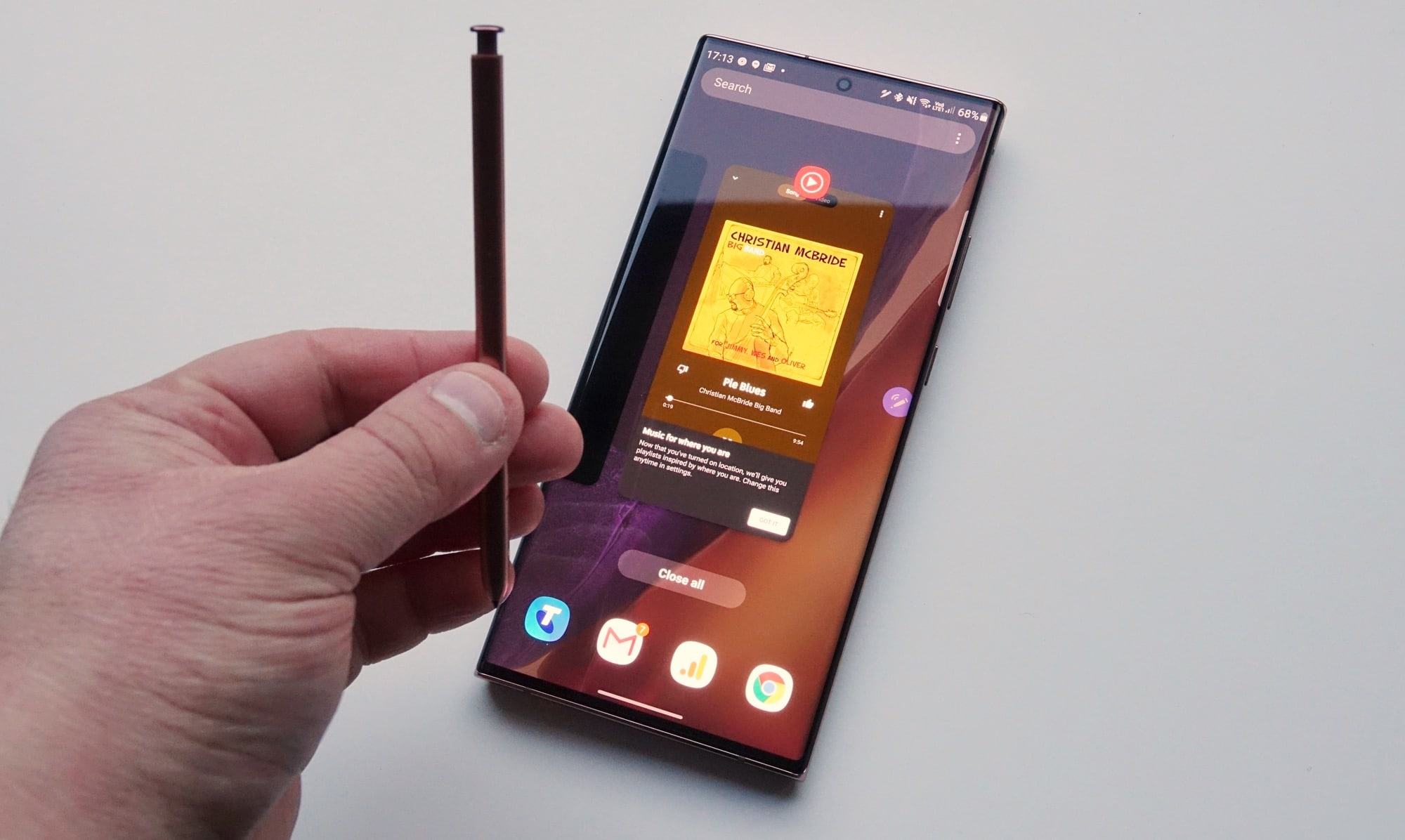 Using Air Gestures with the Galaxy Note 20 Ultra
