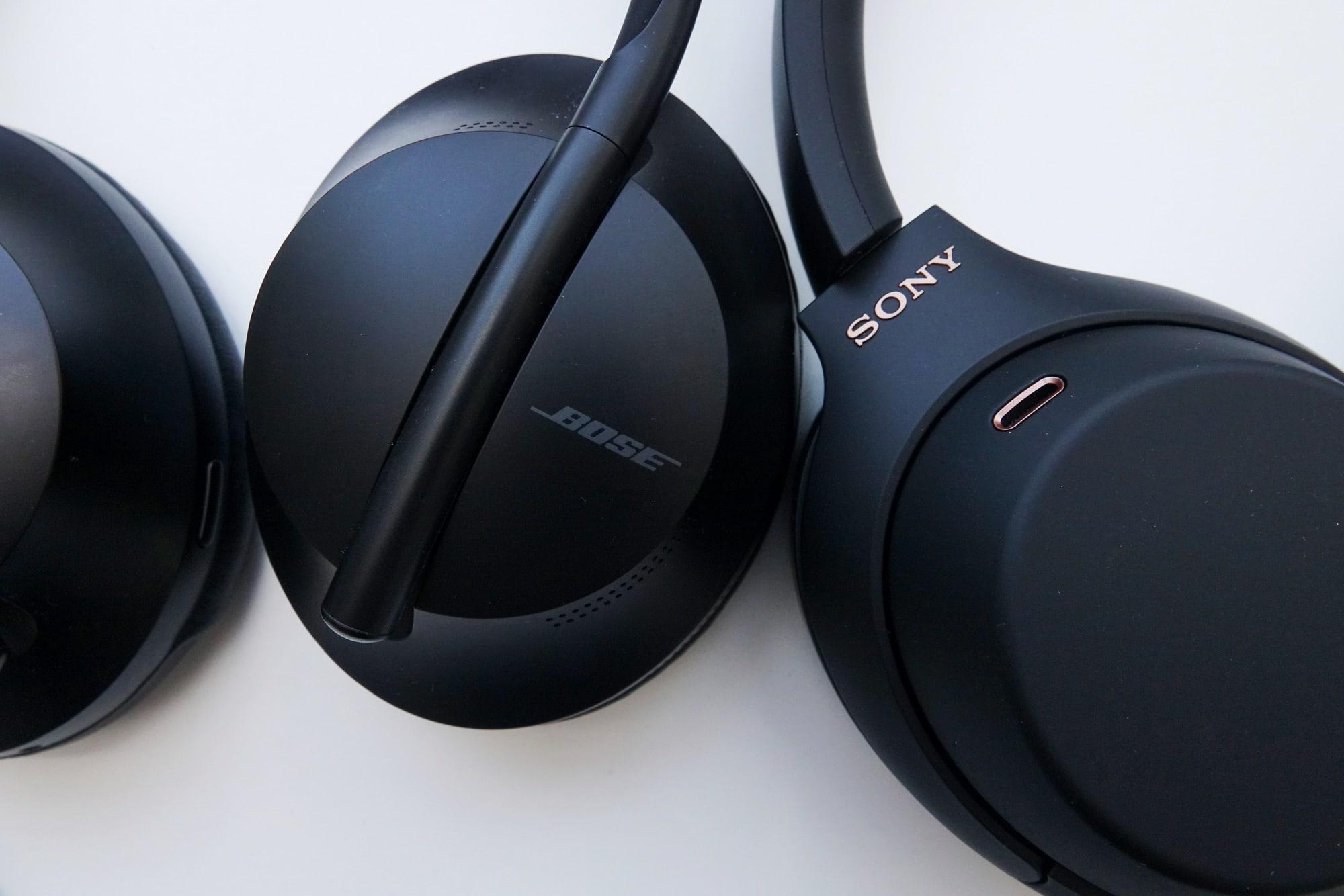 Bose 700 Noise Cancelling Headphones vs Sony WH-1000XM4 Noise Cancelling Headphones