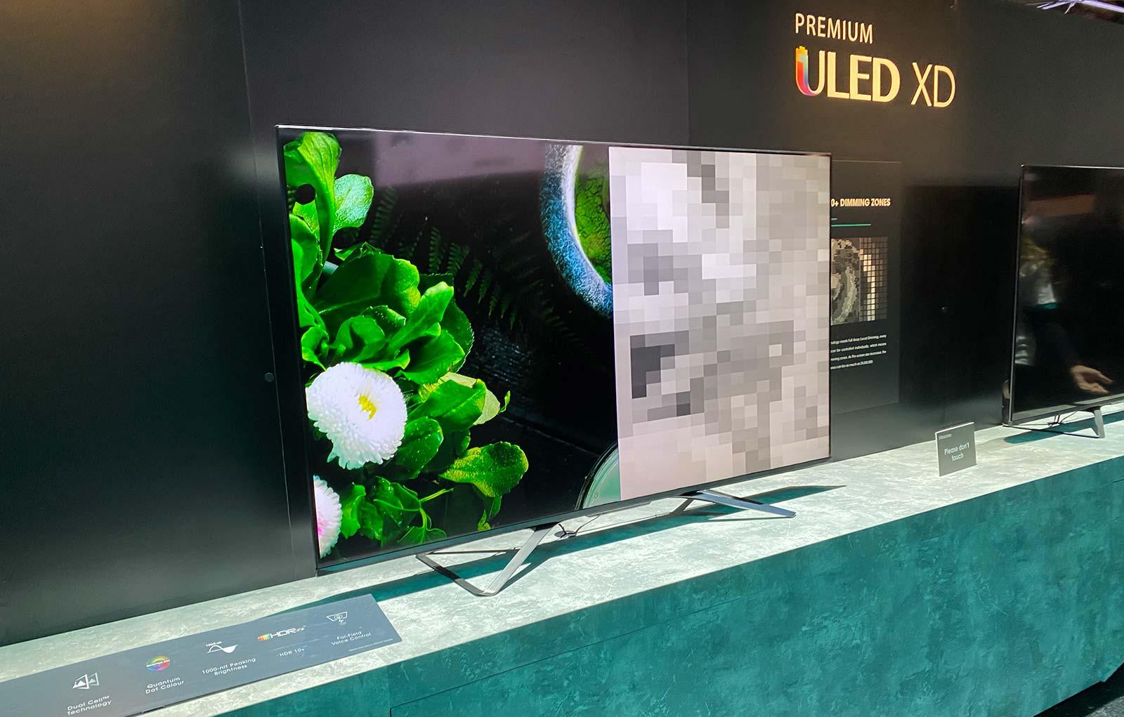 Hisense Dual Cell LED TV at CES 2020
