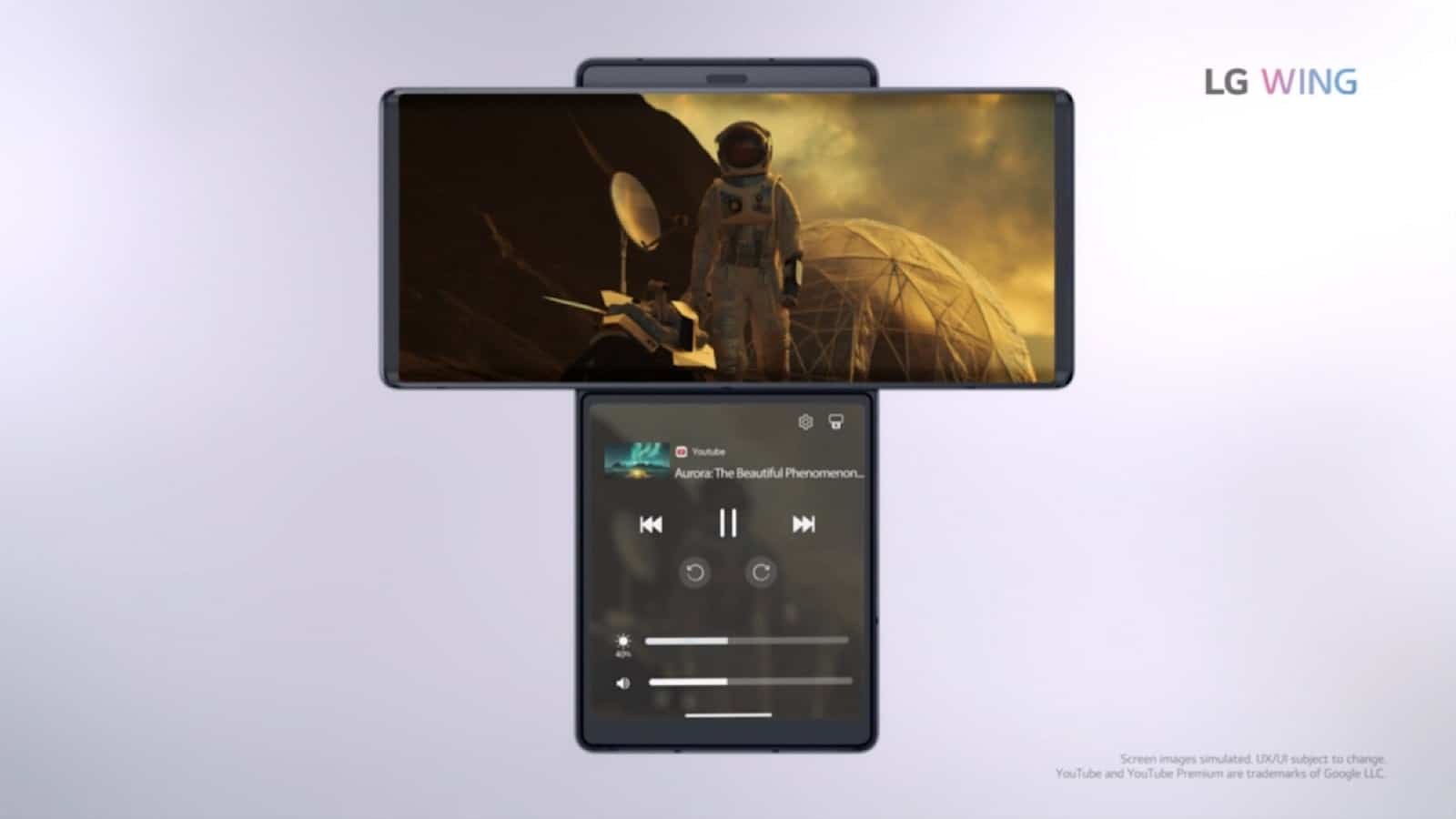 LG Wing phone concept
