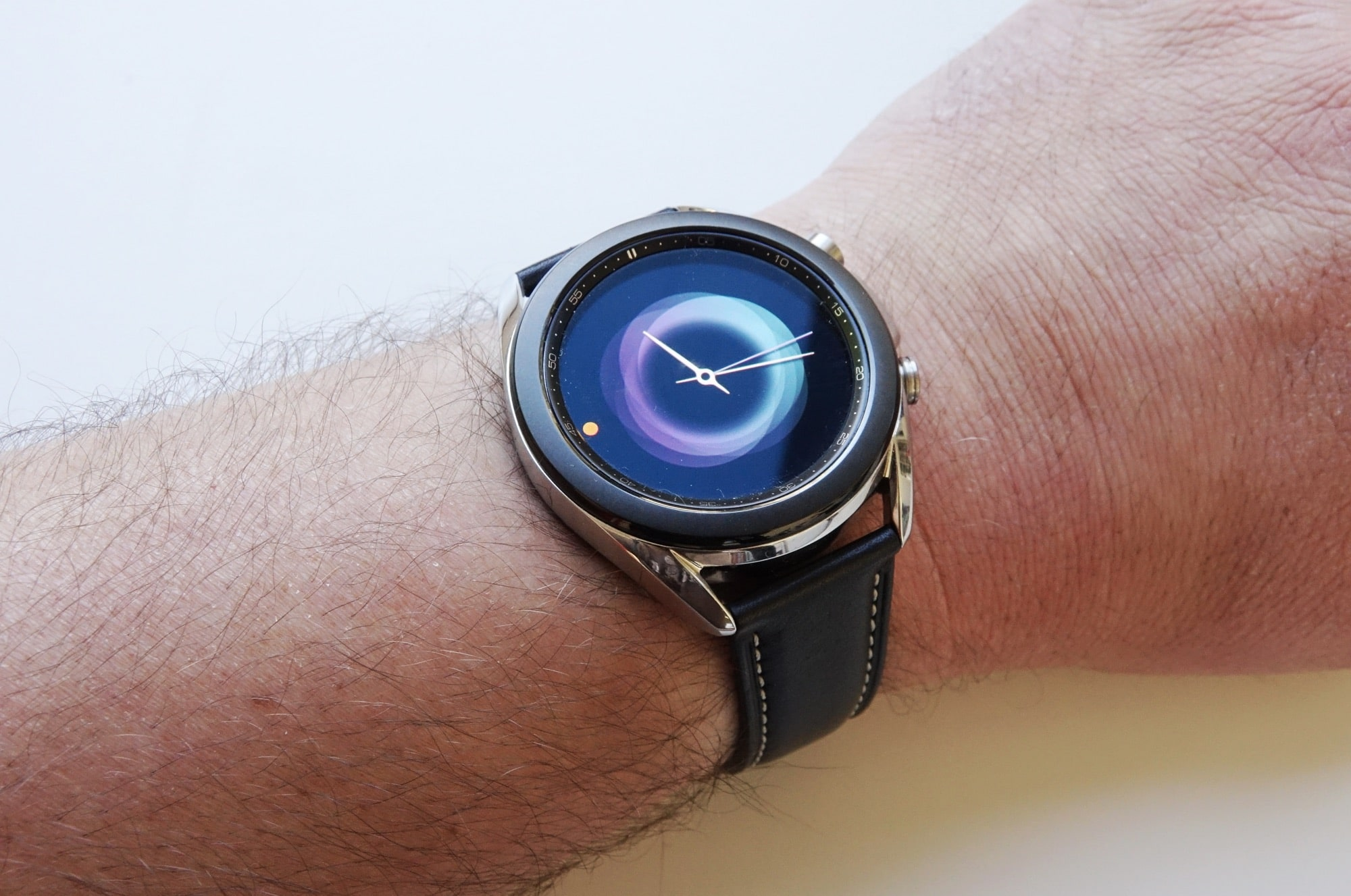 One of the watch faces on the Galaxy Watch 3