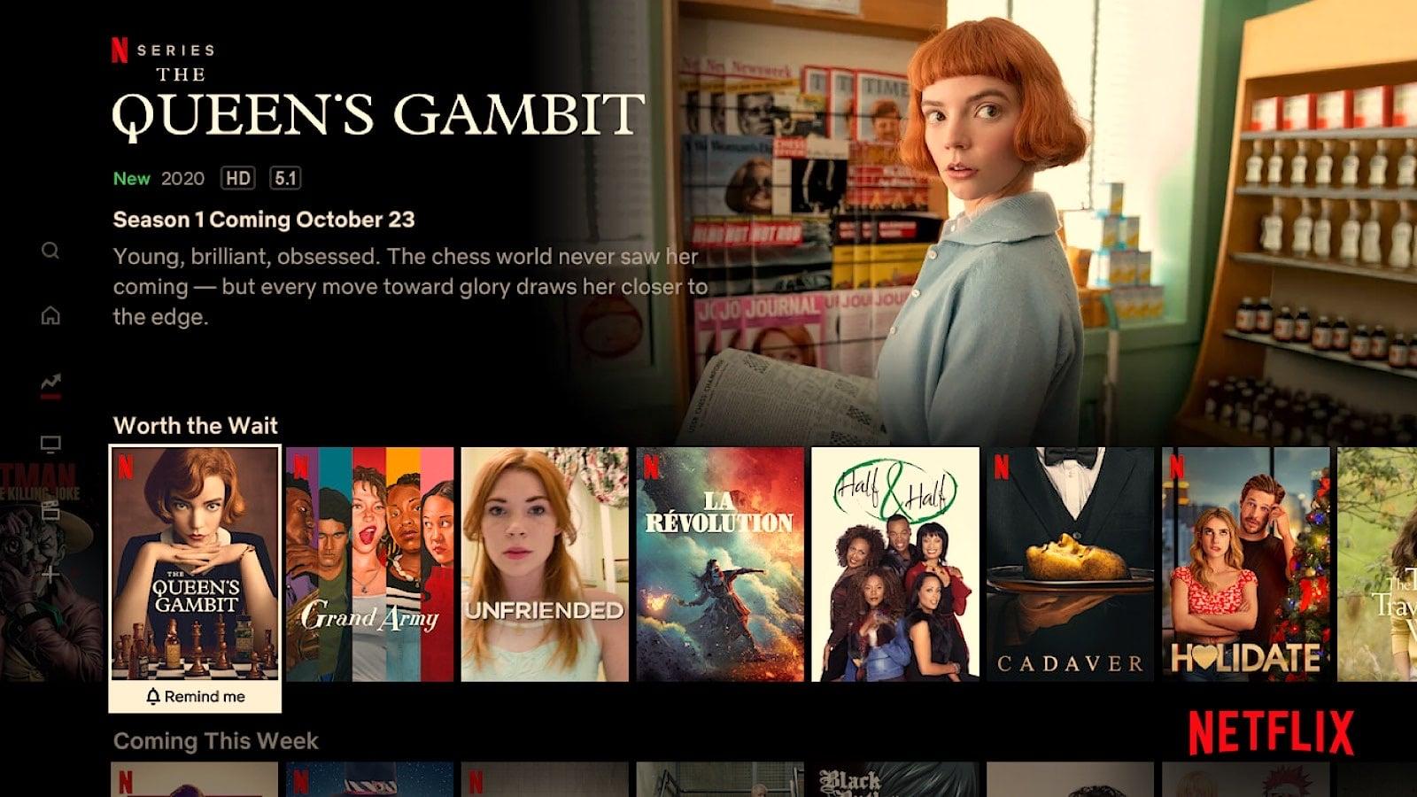 """""""Worth the Wait"""" in Netflix"""