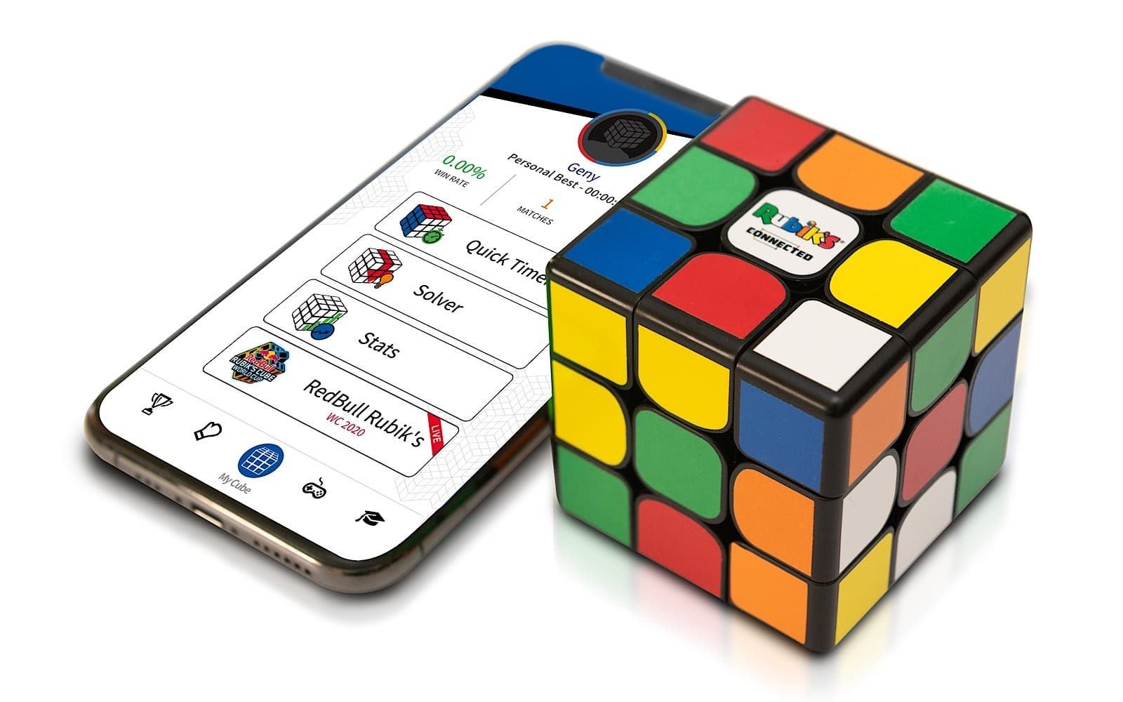 Rubik's Connected is an app-connected Rubik's Cube