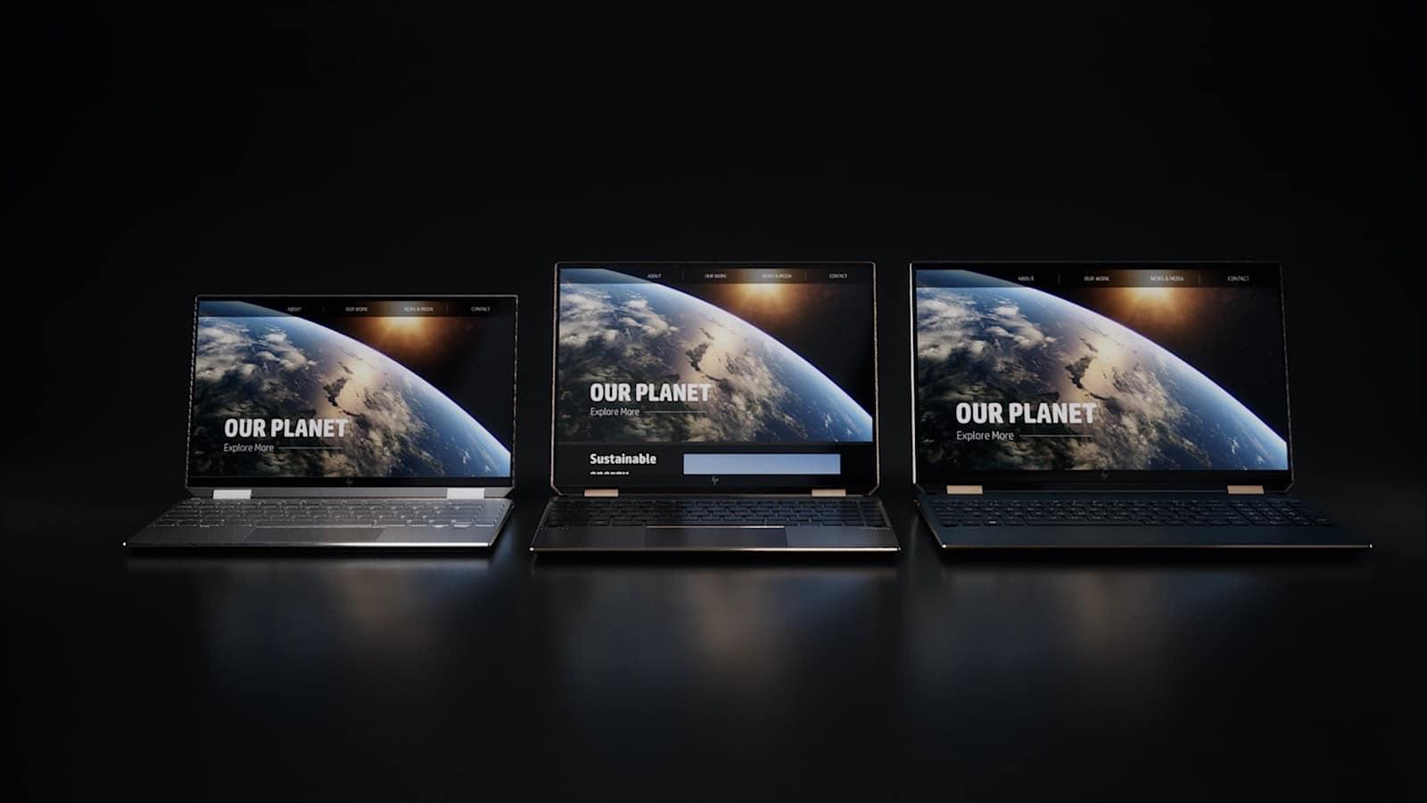 The HP Spectre x360 range