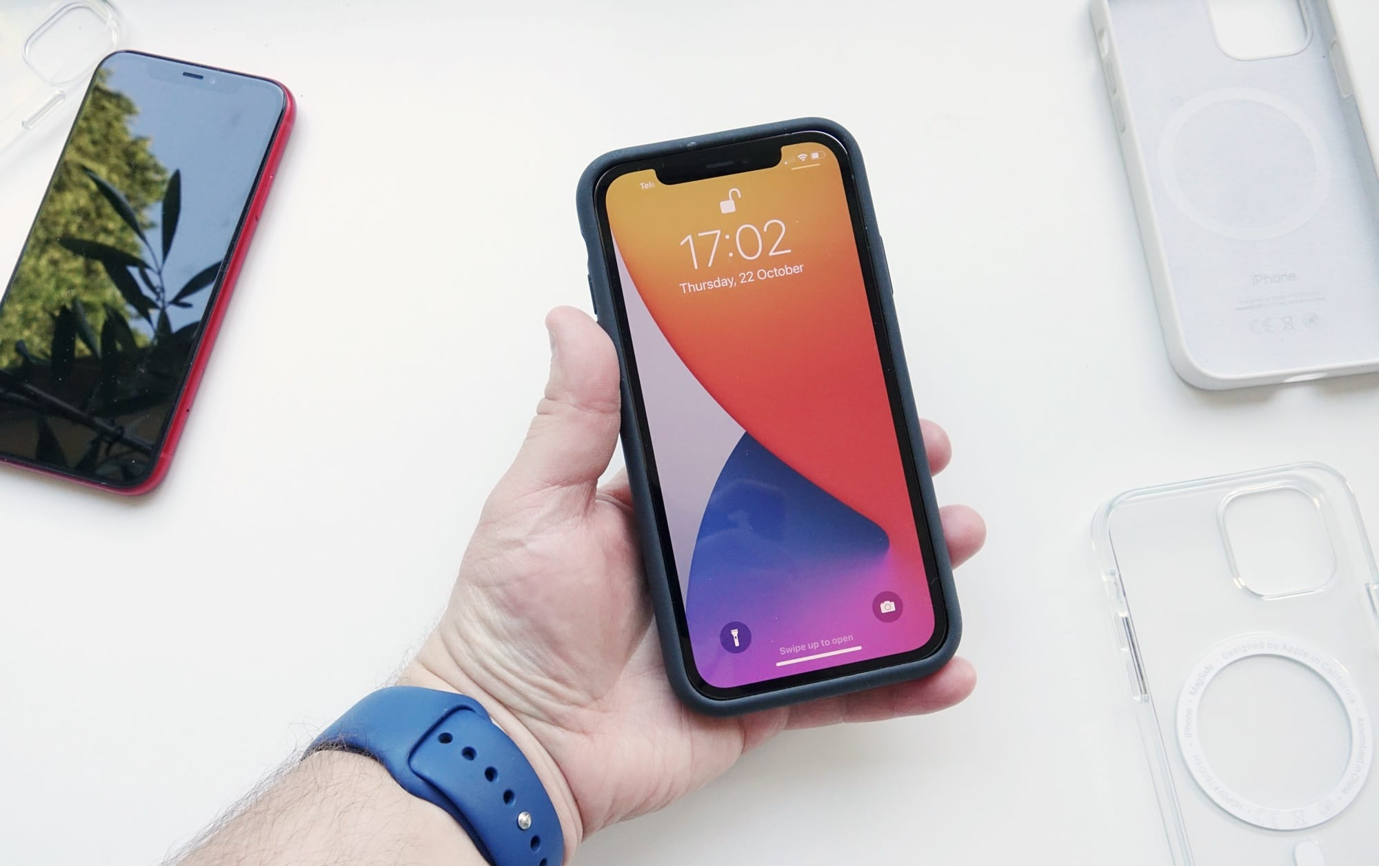 You might be able to fit an iPhone 12 into some iPhone 11 cases, it just won't be pretty.