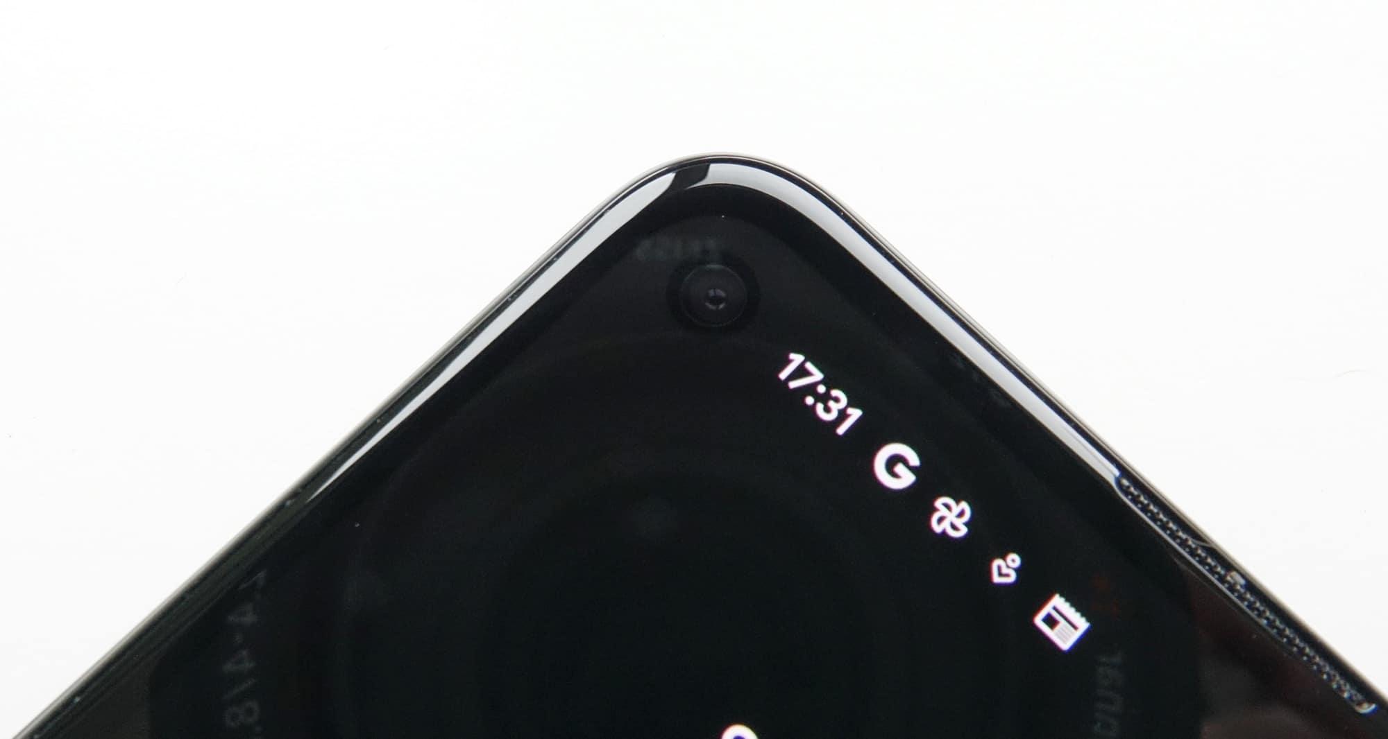 Google Pixel 4a (5G) selfie camera