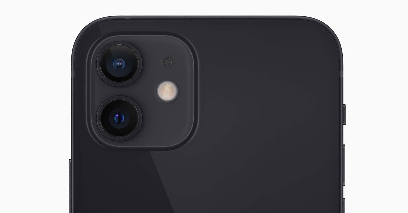 Apple iPhone 12 dual camera