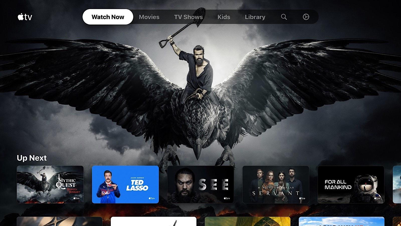 Apple TV+ on the Xbox