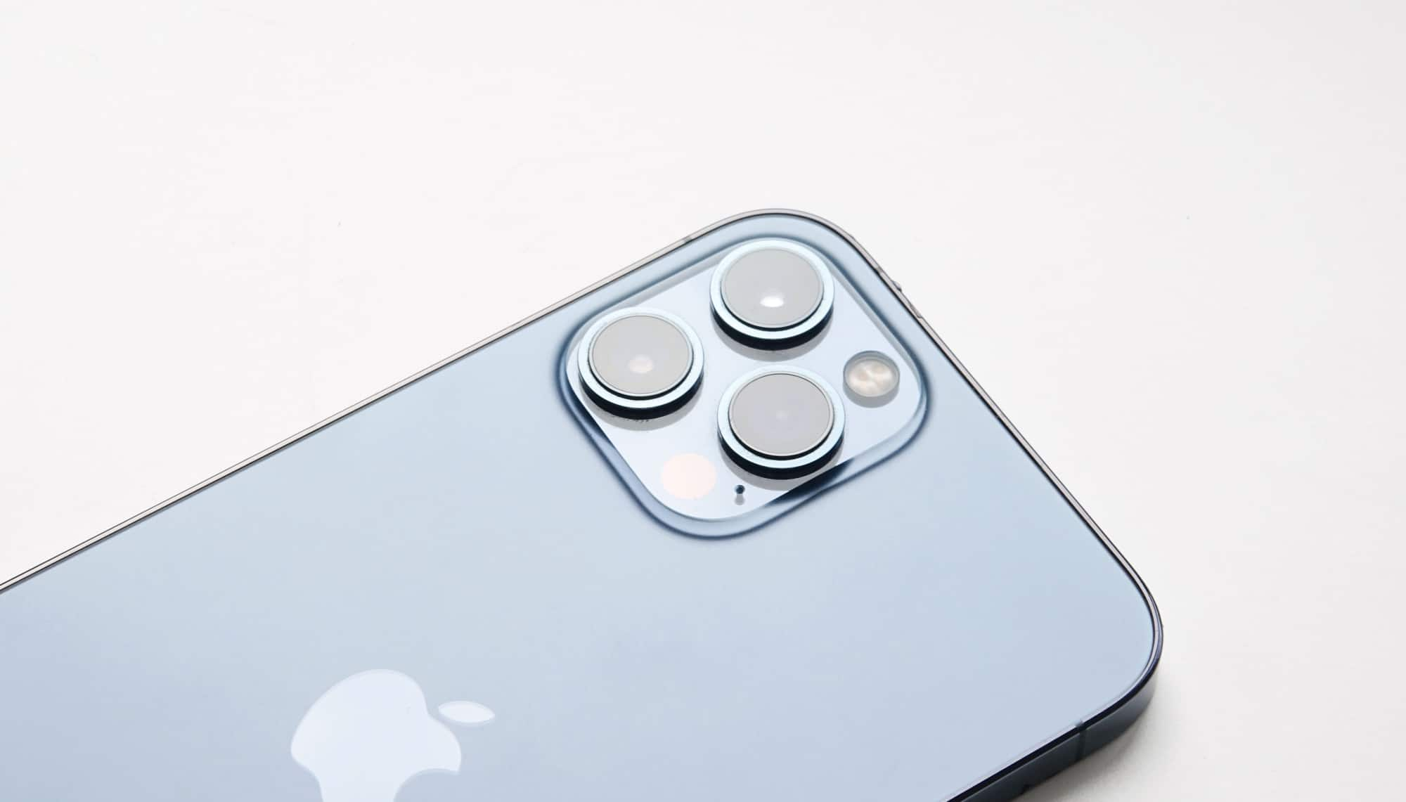 Apple iPhone 12 Pro Max cameras