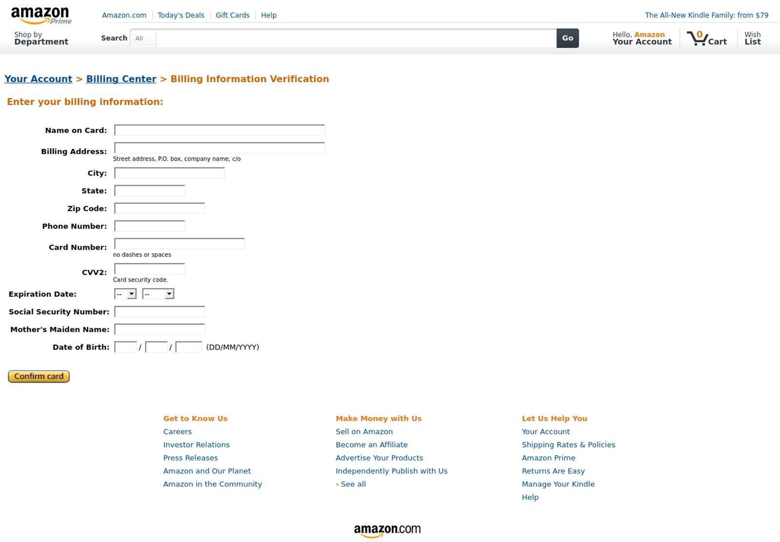 Amazon Gutschein Email Fake
