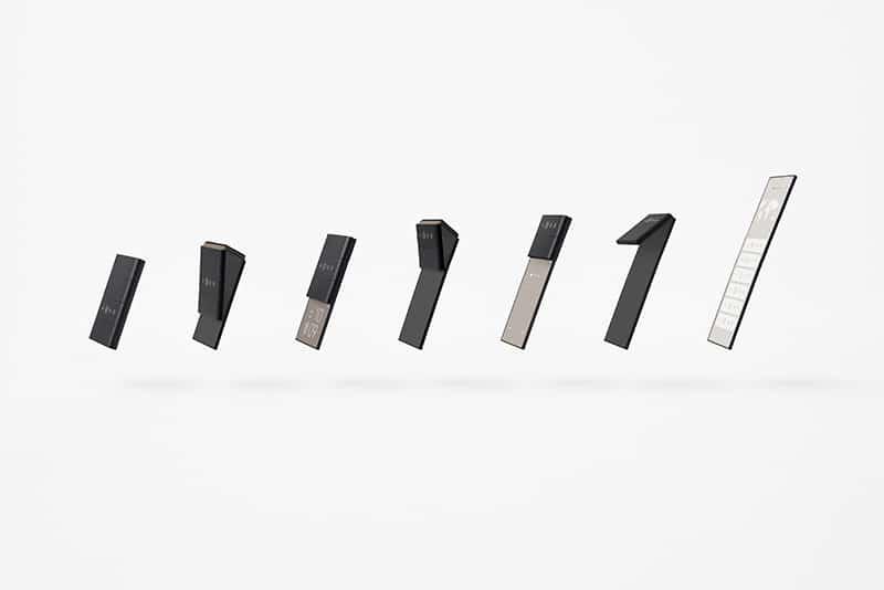 Oppo & Nendo's sliding phone concept