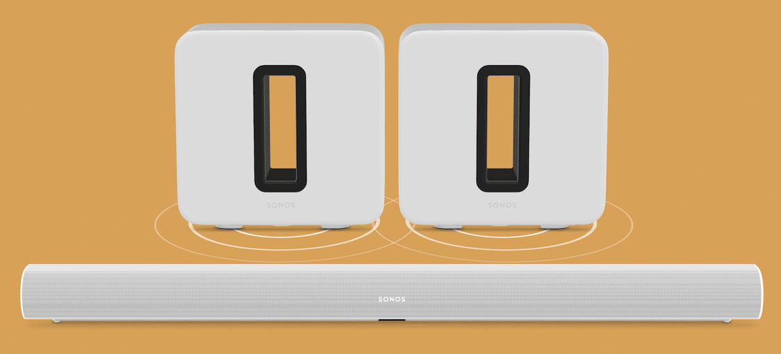 Two Sonos Subs in one configuration with the latest Sonos update