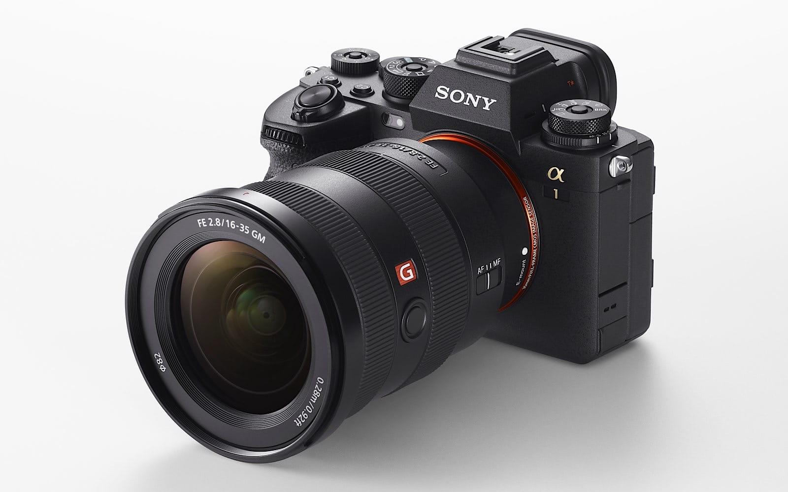Sony A1 8K camera
