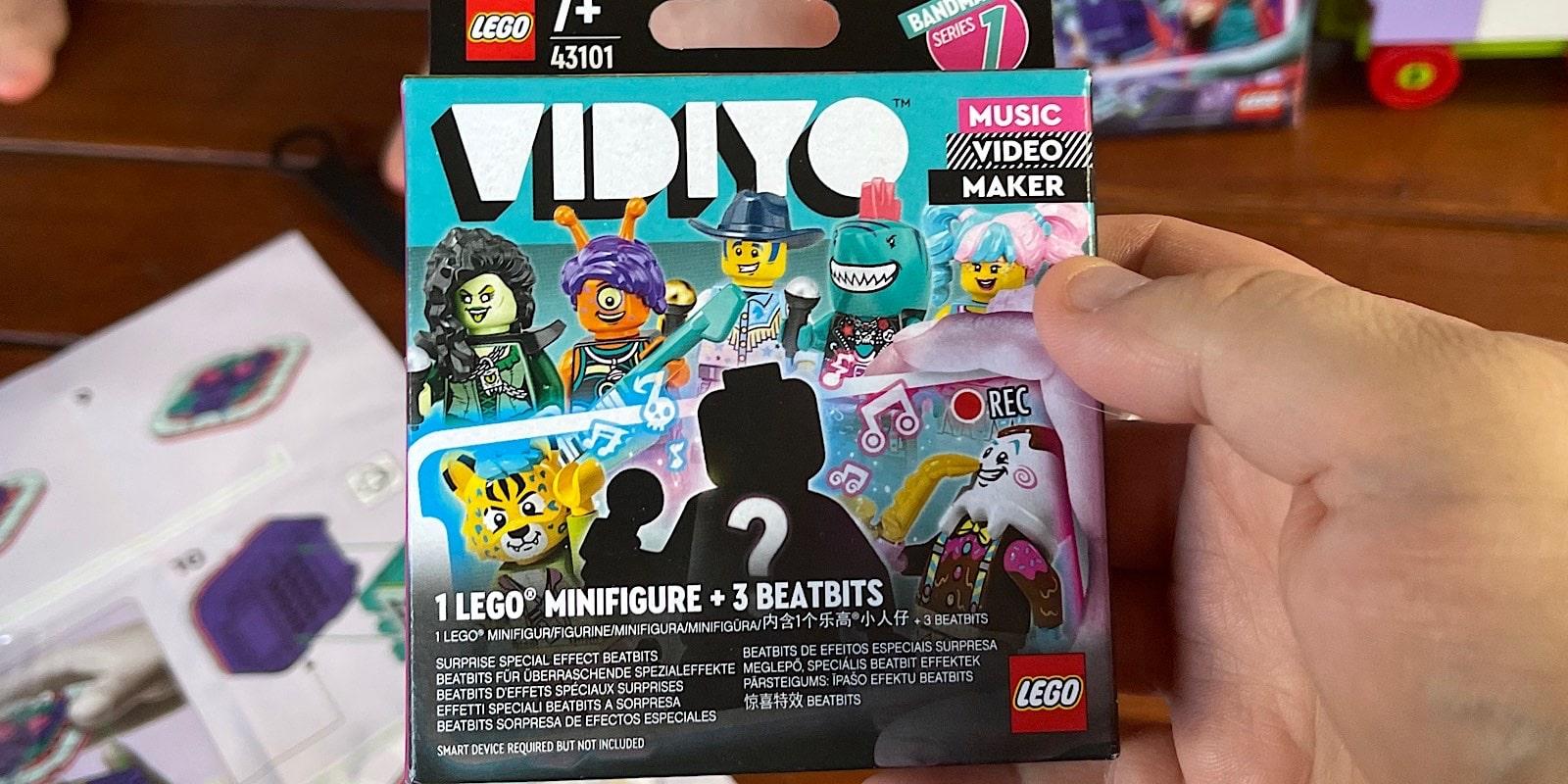 "Lego Vidiyo's ""mystery"" box"