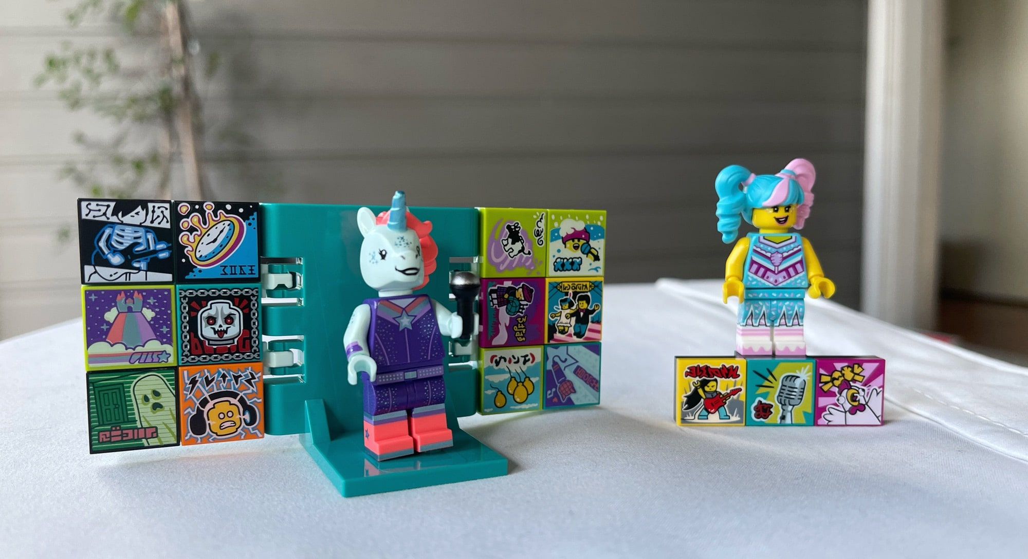 The Lego toys you're playing with