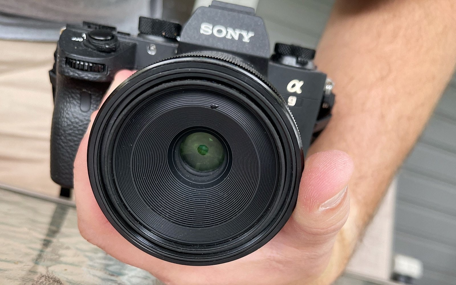 When you have the right hand-hold on a camera, you can hold it without fear of dropping it