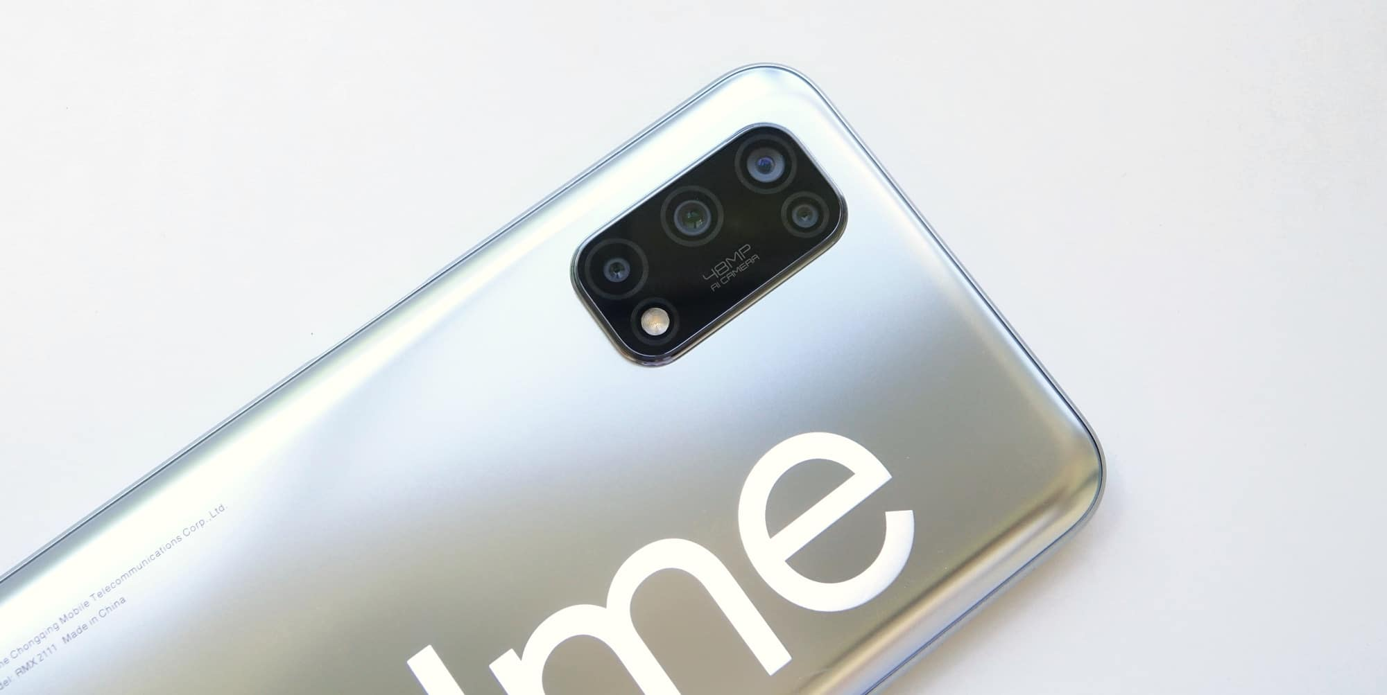 The four cameras of the Realme 7 5G