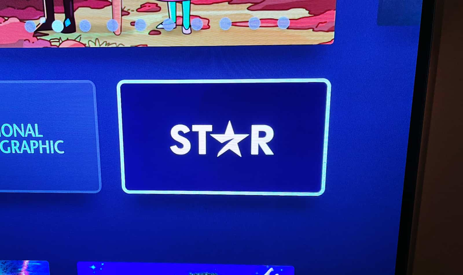 Star app on Disney+