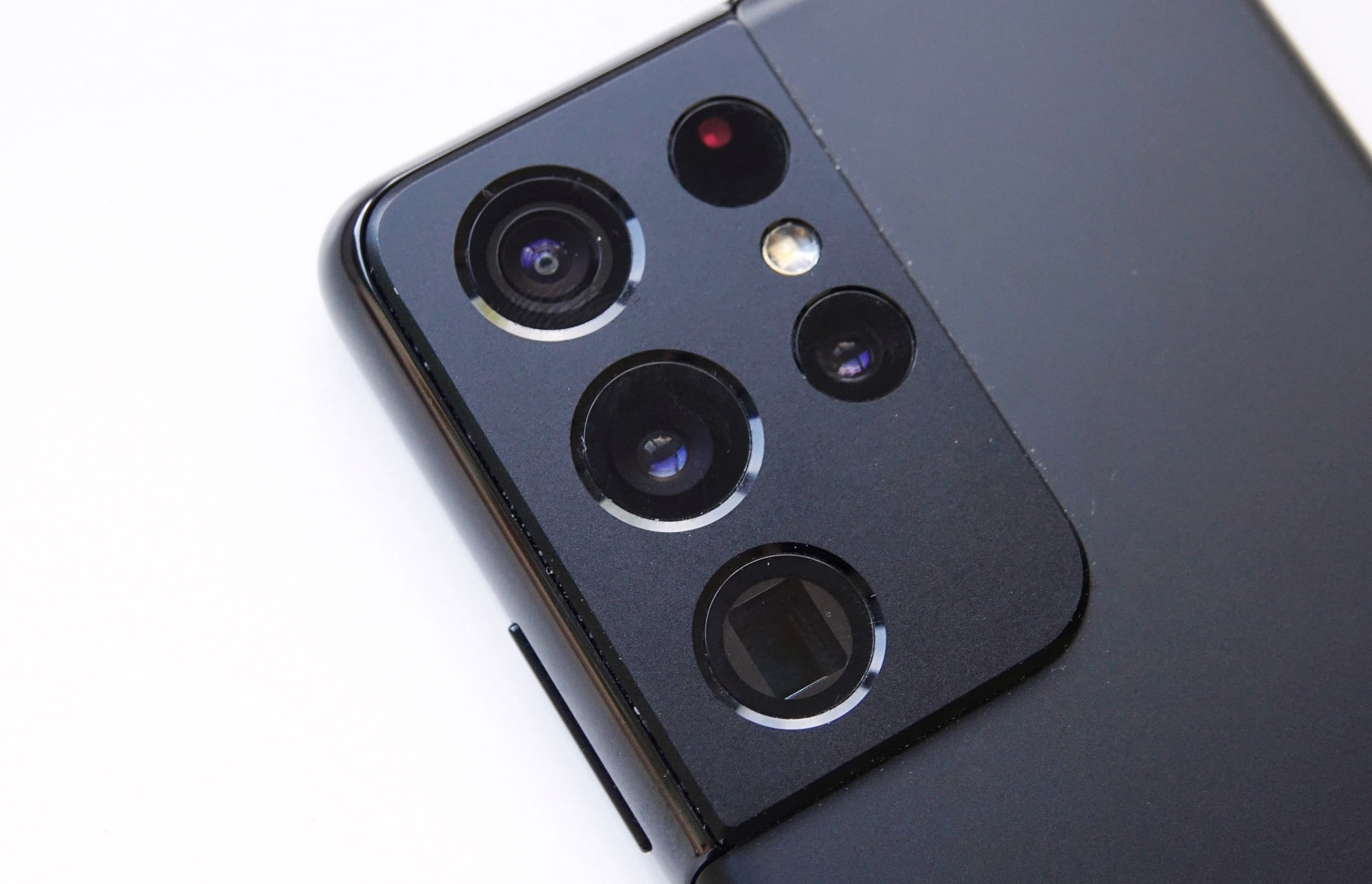 The Galaxy S21 Ultra's camera system