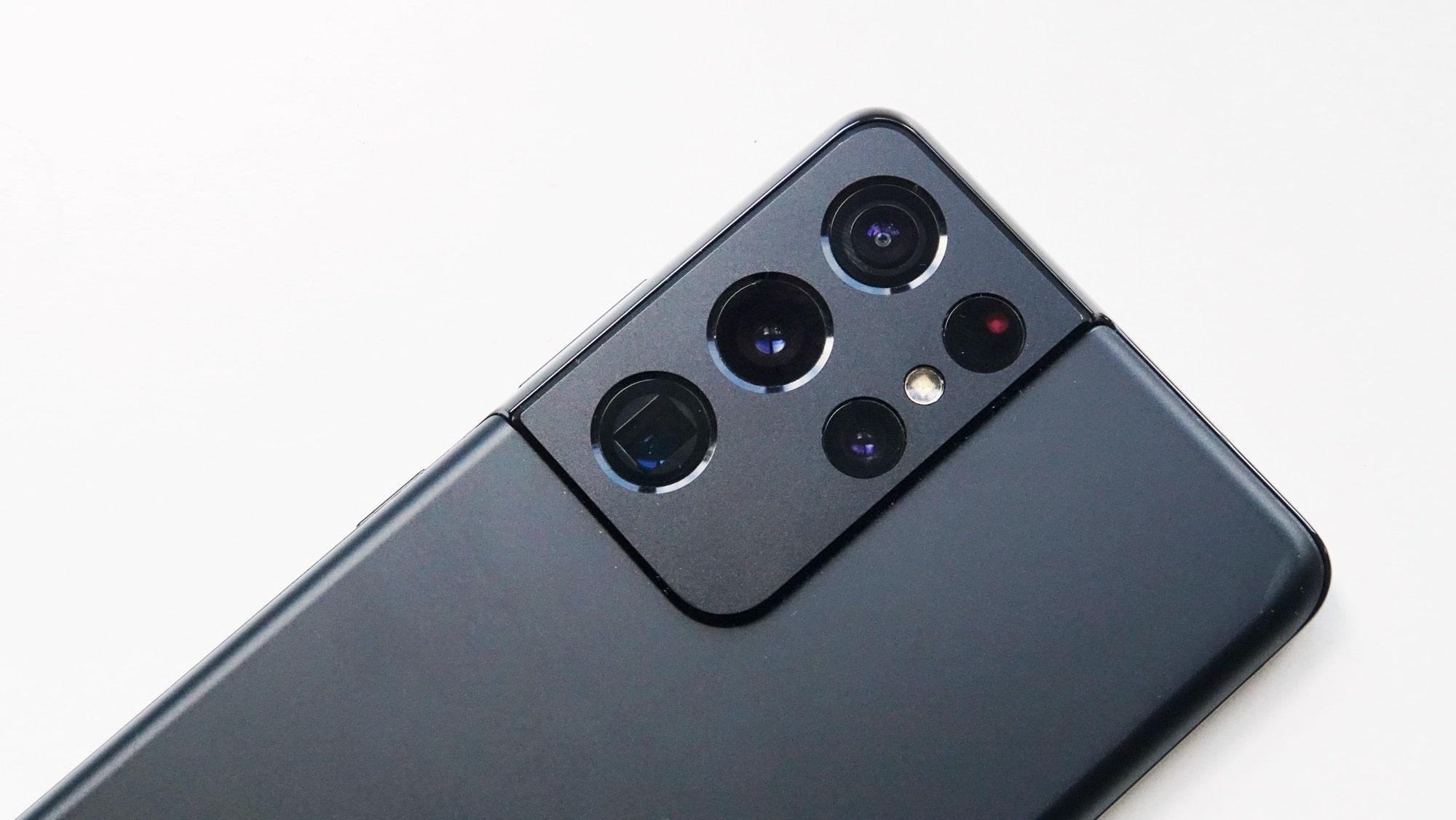 Samsung Galaxy S21 Ultra 5G camera