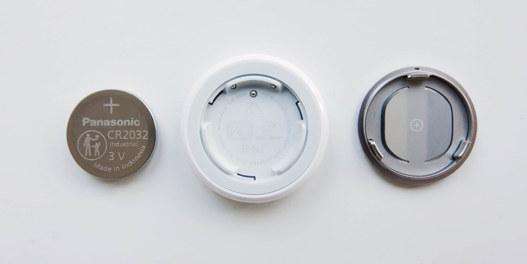 There's a CR2032 battery inside the Apple AirTag.