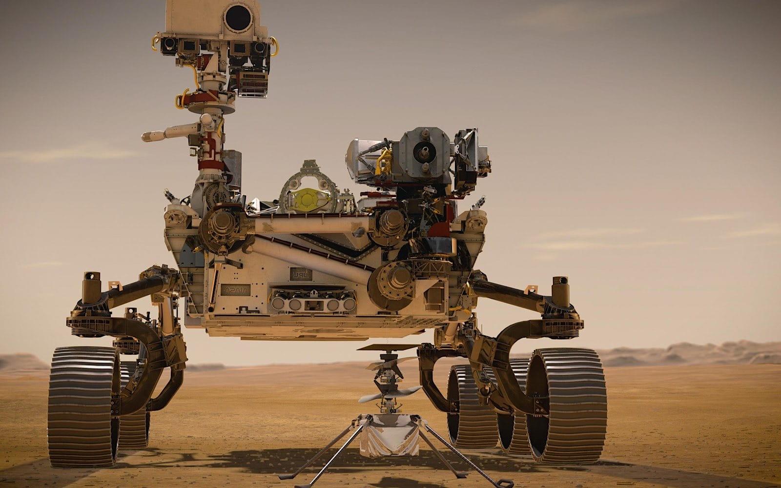 Ingenuity takes flight on Mars