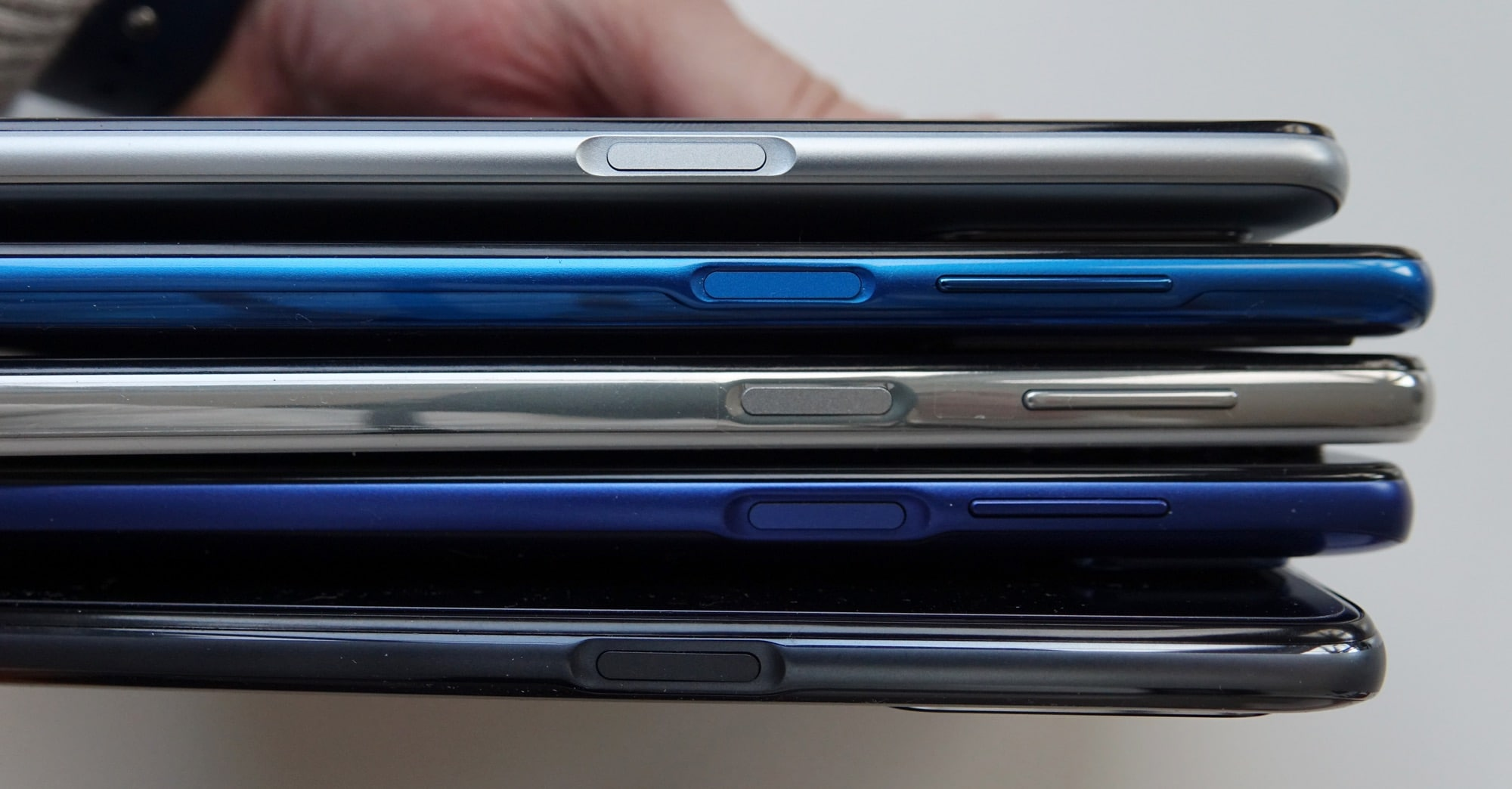 Every mid-range 5G phone in 2021 has a fingerprint sensor built into the power button. Every. Single. One.
