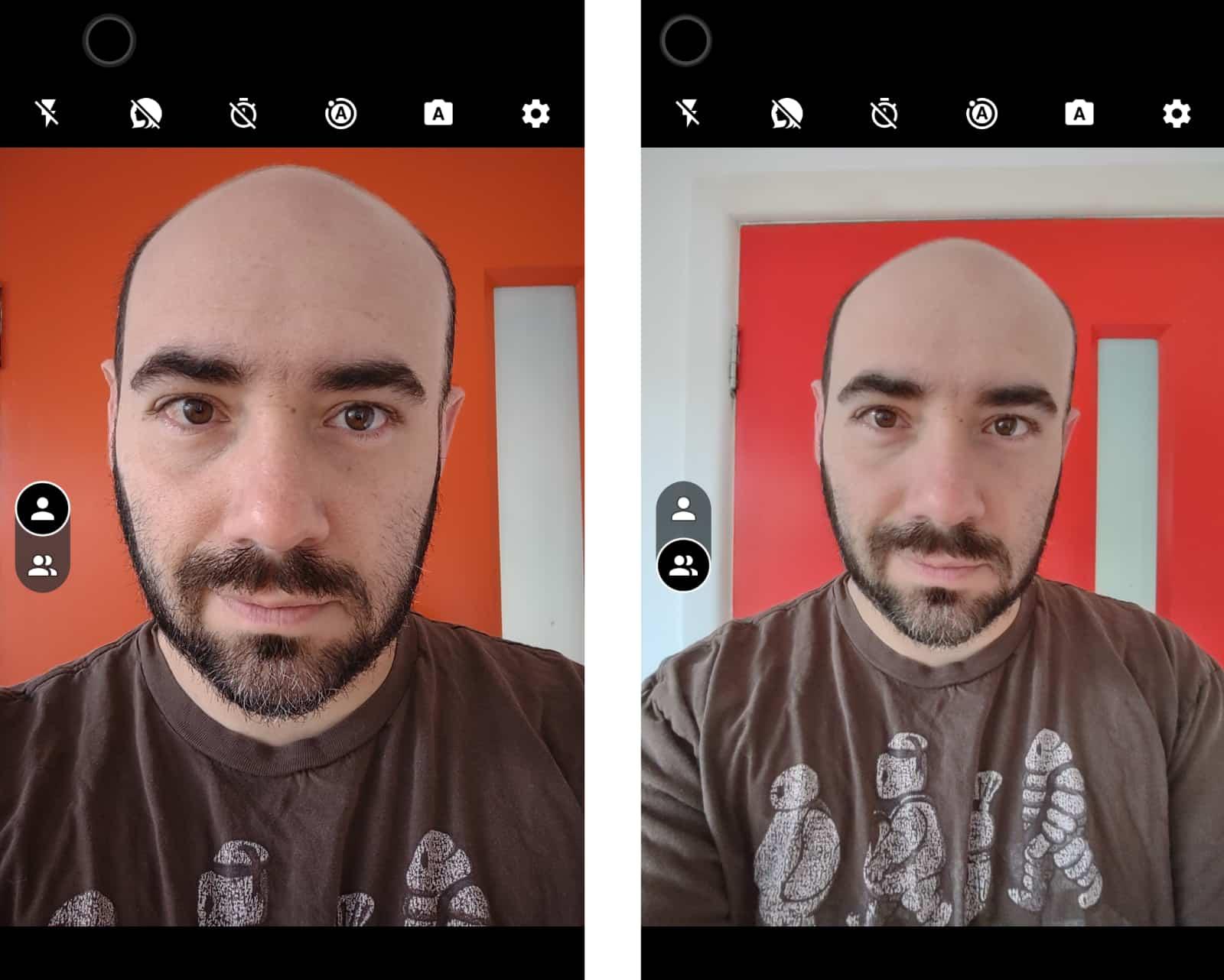 Moto G 5G Plus selfie cameras