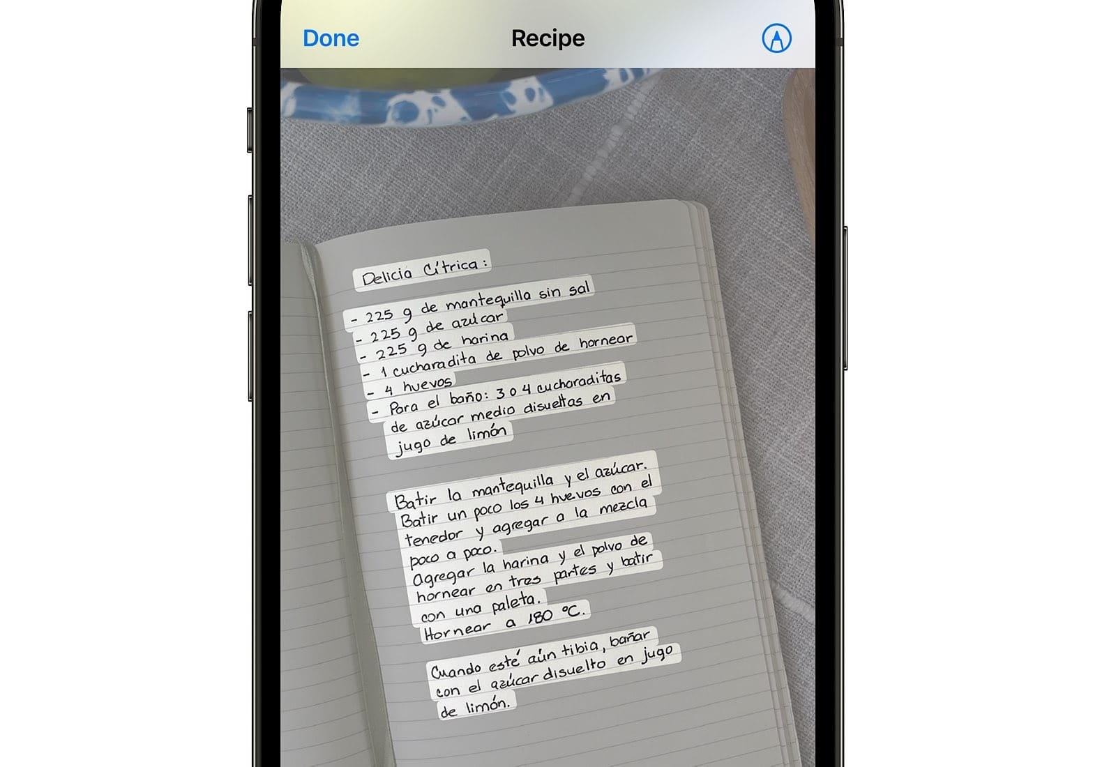 Apple's text transcription technology.