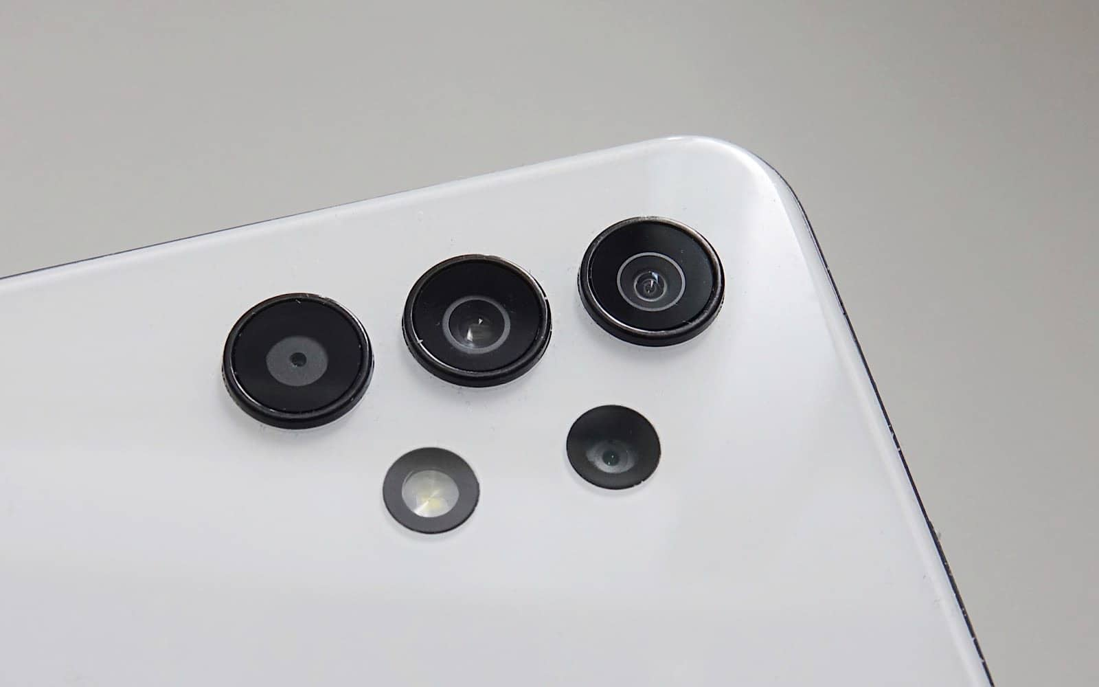 The cameras on the Galaxy A32 5G