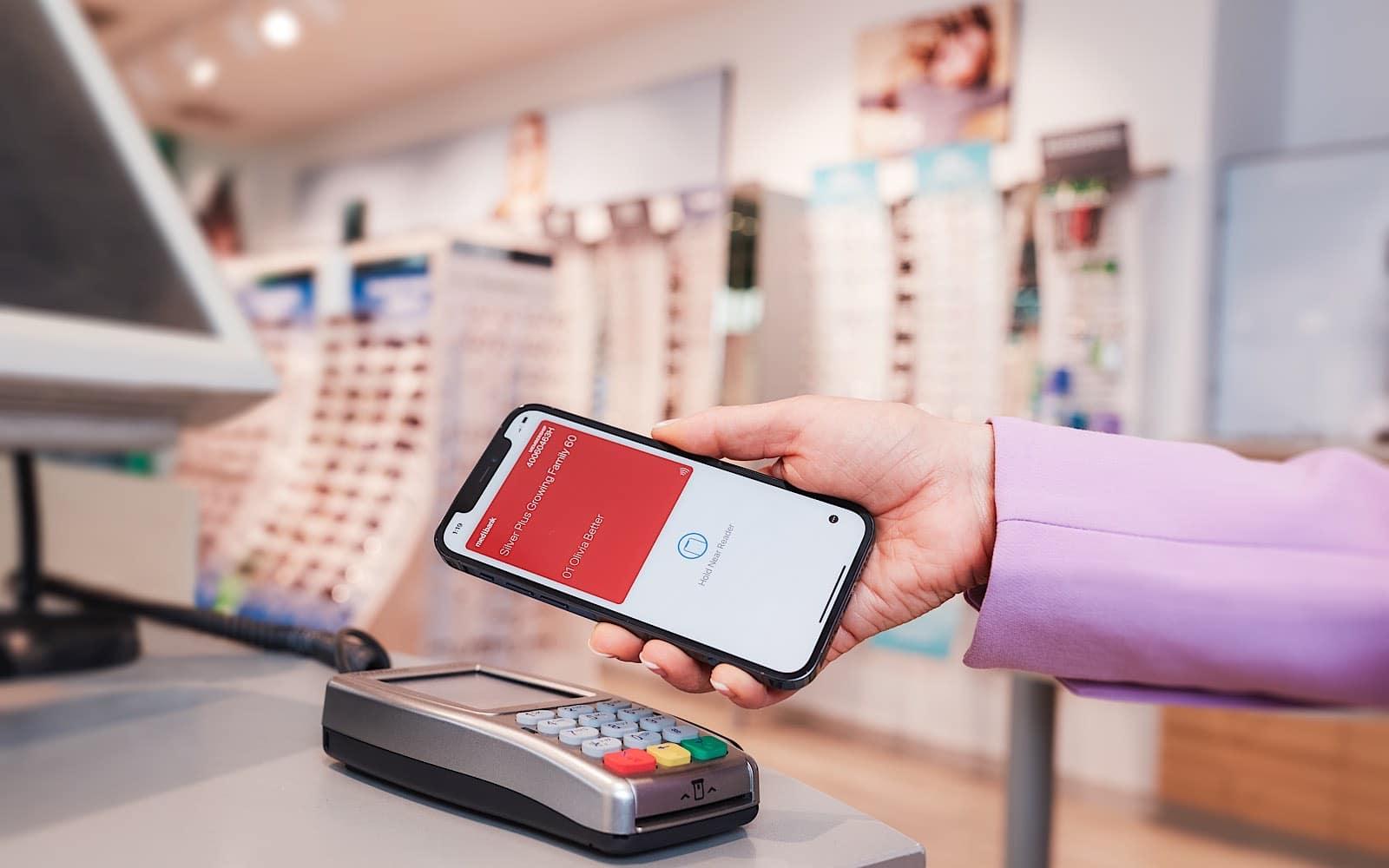 Australian health insurance cards on the iPhone