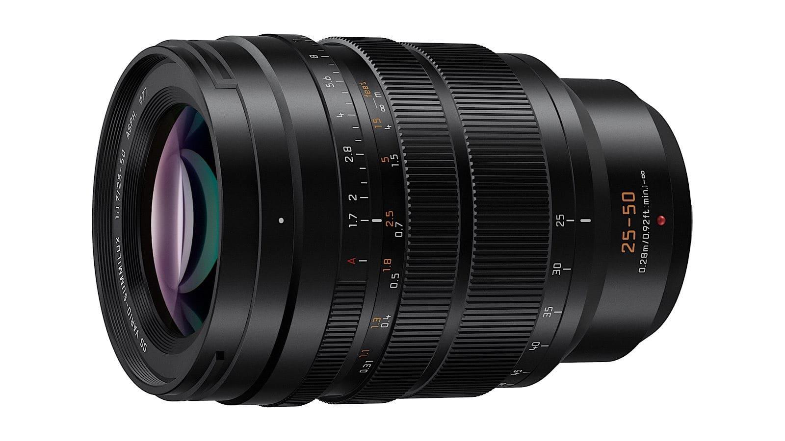 Leica 25-50mm F1.7 lens for Panasonic Lumix G