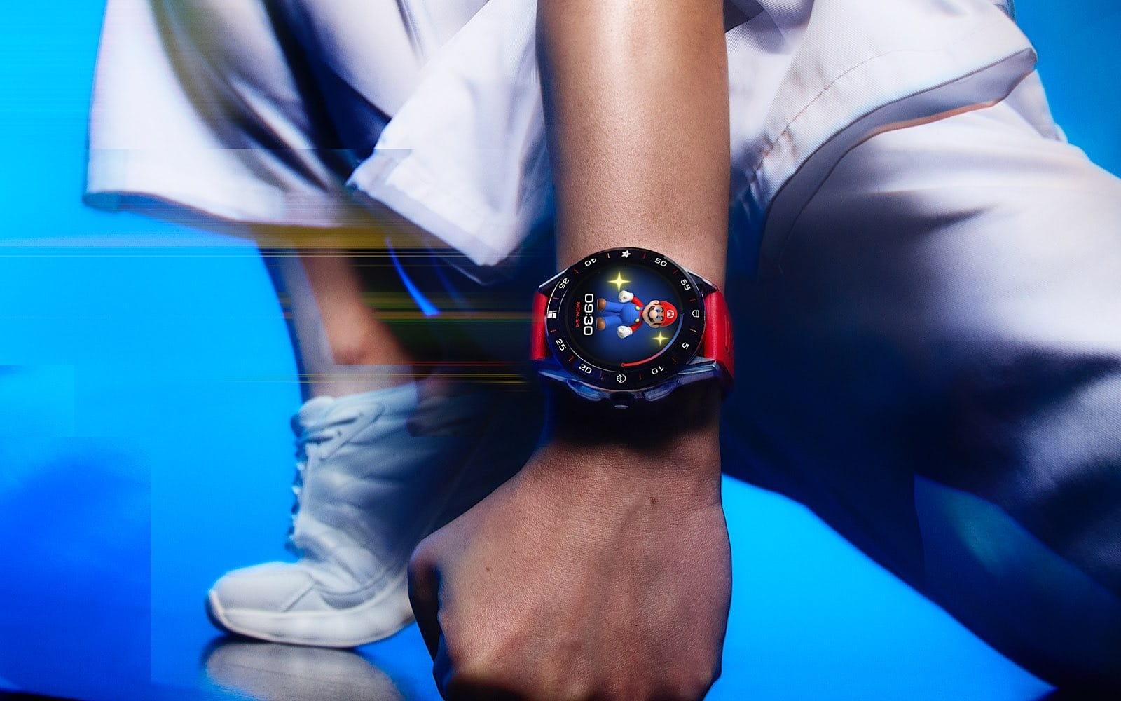 TAG Heuer Mario smartwatch