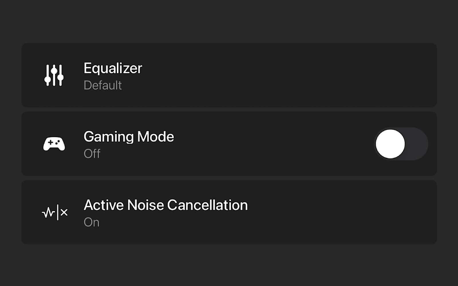 Razer's app is pretty basic