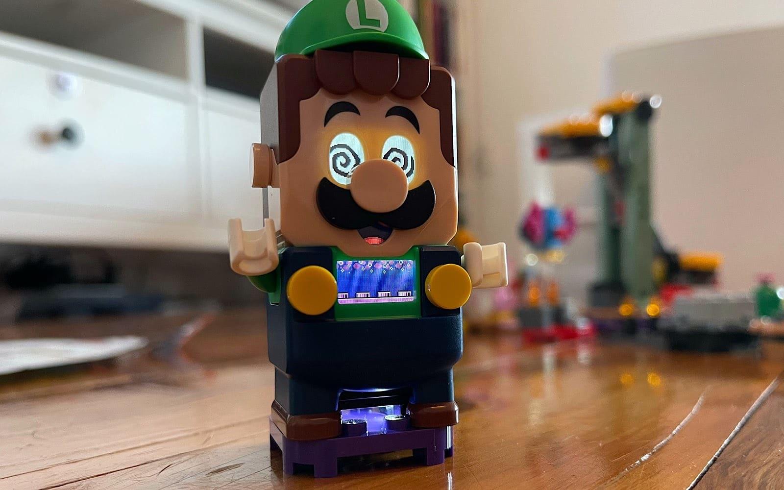 Don't let Luigi land on anything purple.
