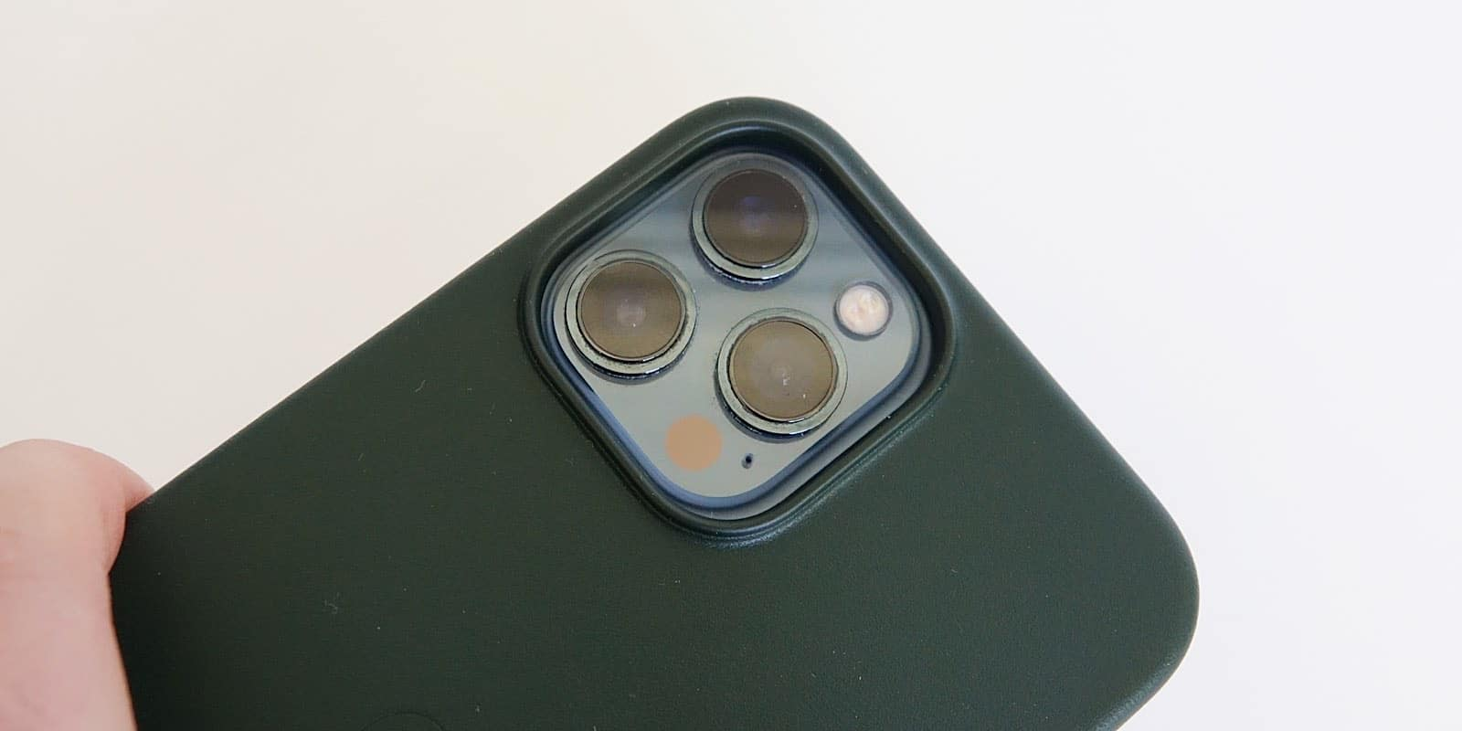 The 12 Pro Max more easily fits an iPhone 13 Pro Max case.