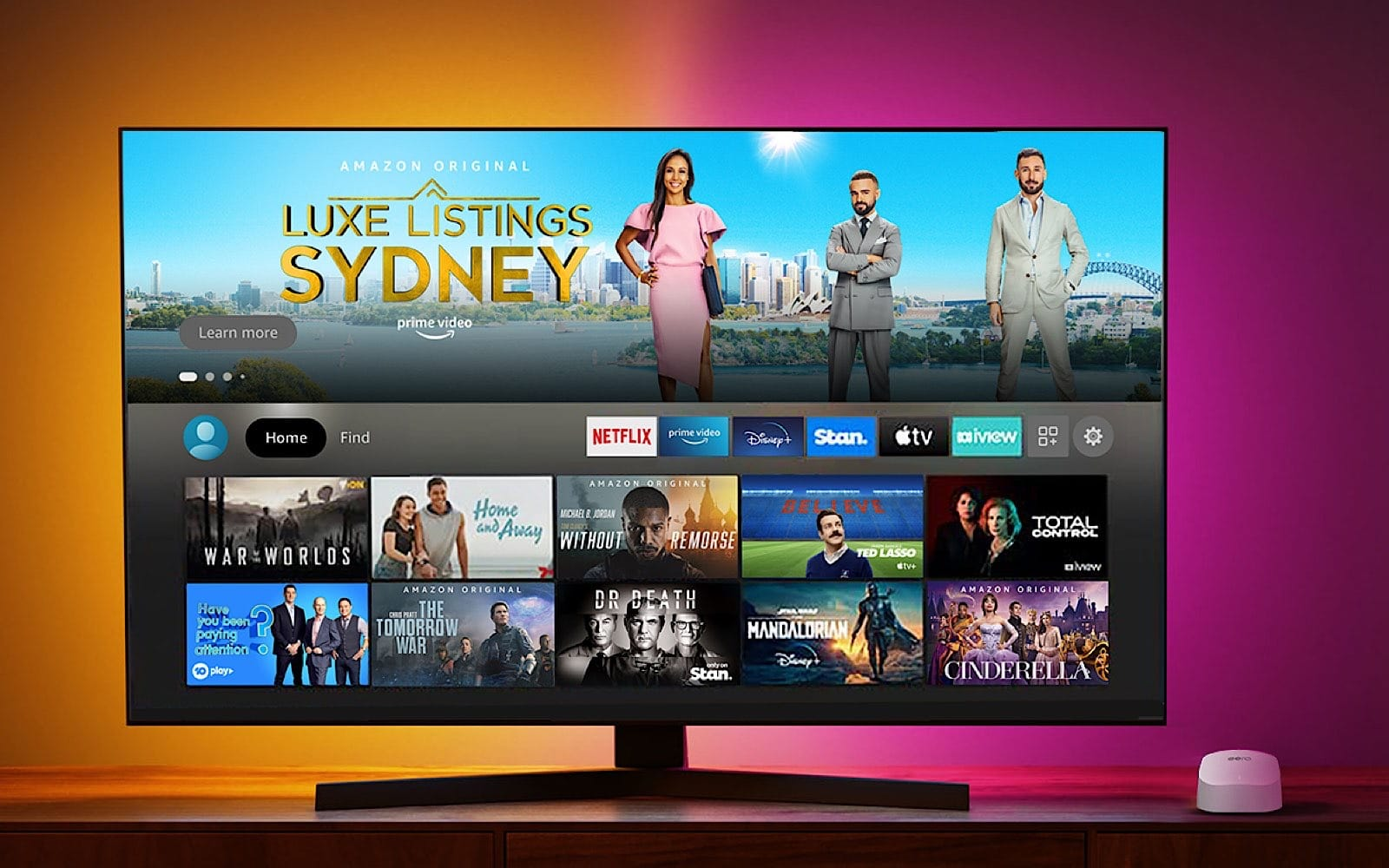 Amazon Fire TV Stick 4K Max on-screen