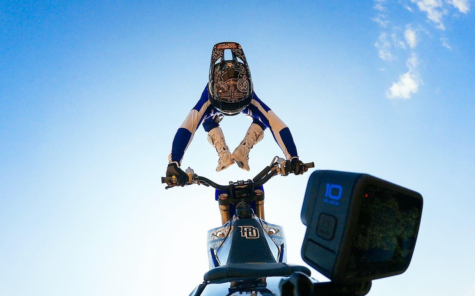 David Rinaldo captured on the GoPro Hero 10 Black.