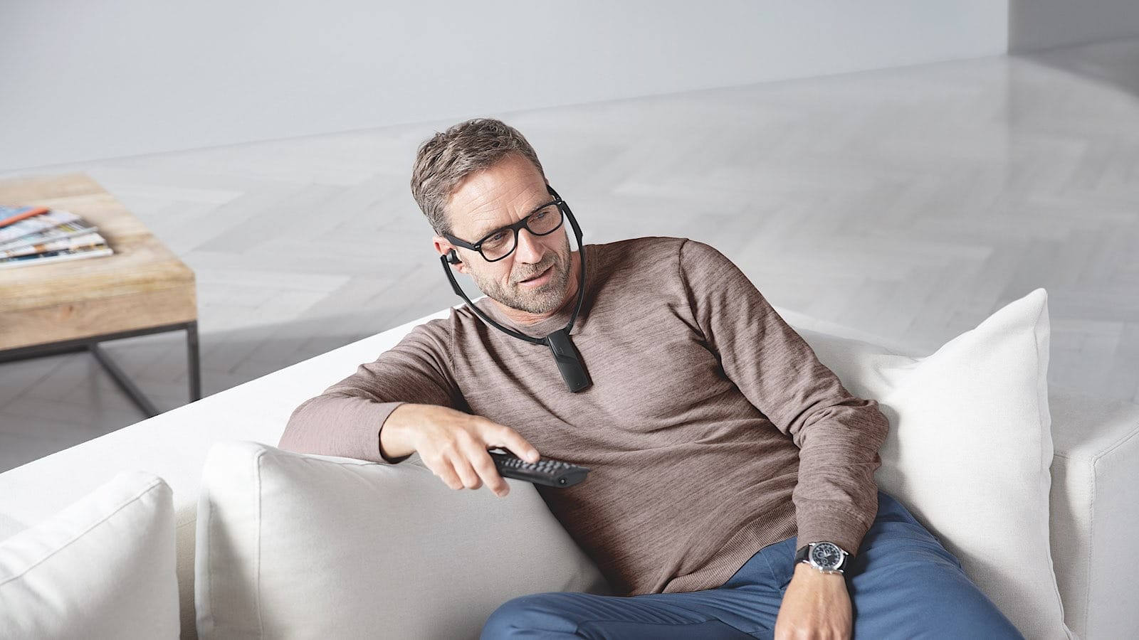 Sennheiser RS 5200 personal earphones for a TV
