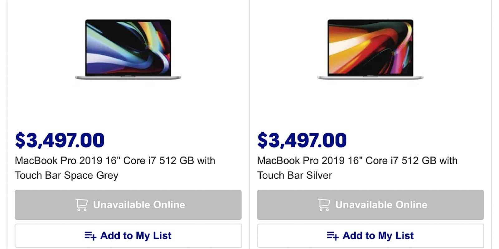 When stocks of MacBook Pros are hard to find, something is happening.
